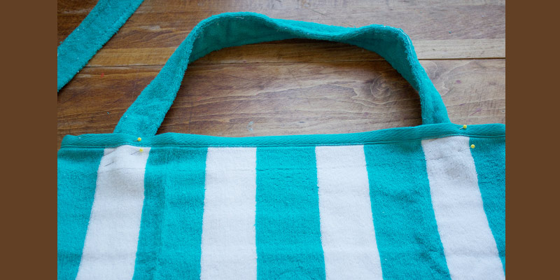 Dandee Designs Beach Towel Tote Bag