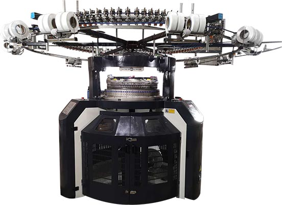 High-Speed Double Jersey Interlock Circular Knitting Machine-1
