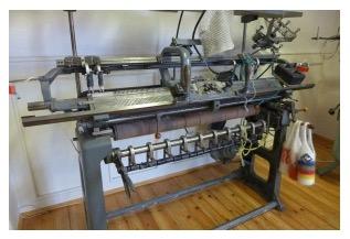 Straight Bar Knitting Machine