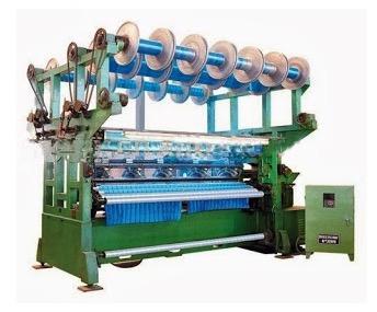 study on raschel warp knitting machine