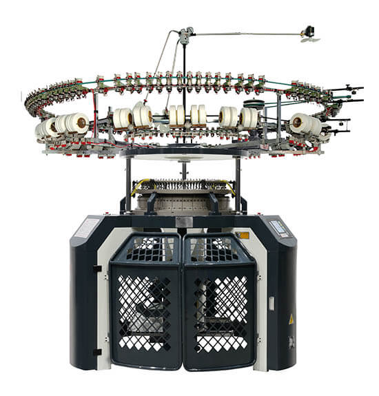 Single Three-Thread Fleece Circular Knitting Machine